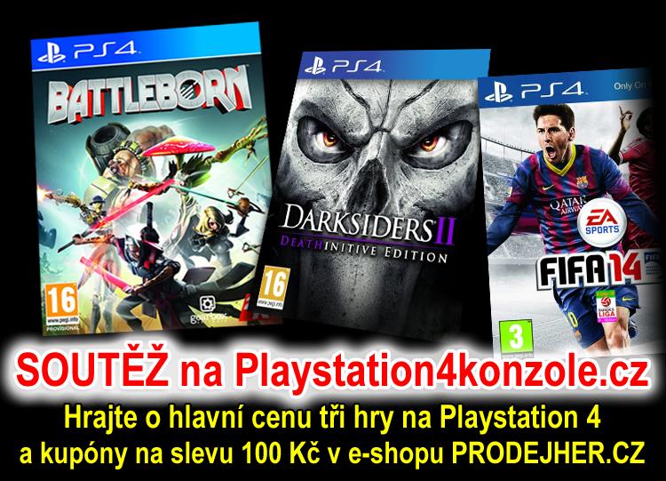 O tři nové hry na Playstation 4
