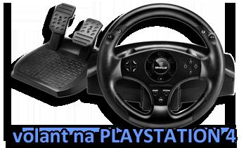 T80 první volant na Playstation 4 - recenze