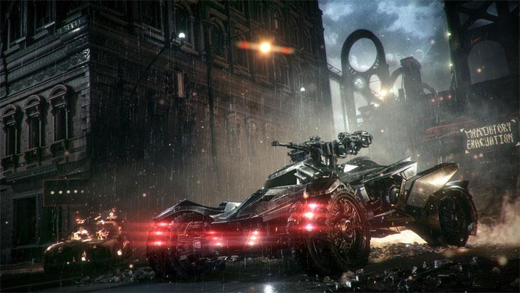 Batman Arkham Knight obrázek ze hry