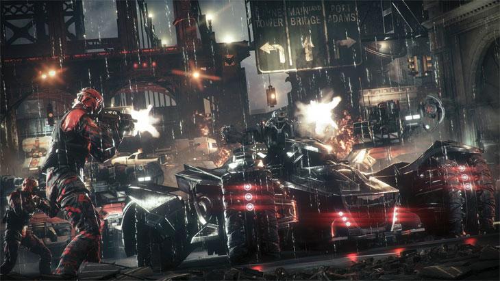 Batman Arkham Knight obrázek ze hry 2