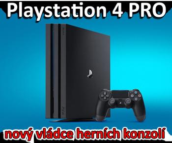 Playstation 4 PRO recenze herní konzole