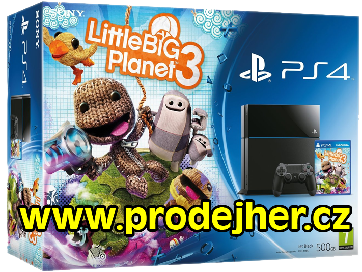 LittleBigPlanet 3 PS4 bundle