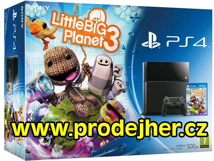 LittleBigPlanet 3 PS4 bundle