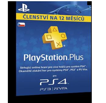 Playstation Plus - online hraní na Playstation 4