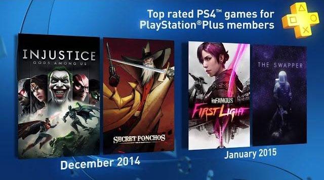 PS Plus - každý měsíc PS4 hra zdarma