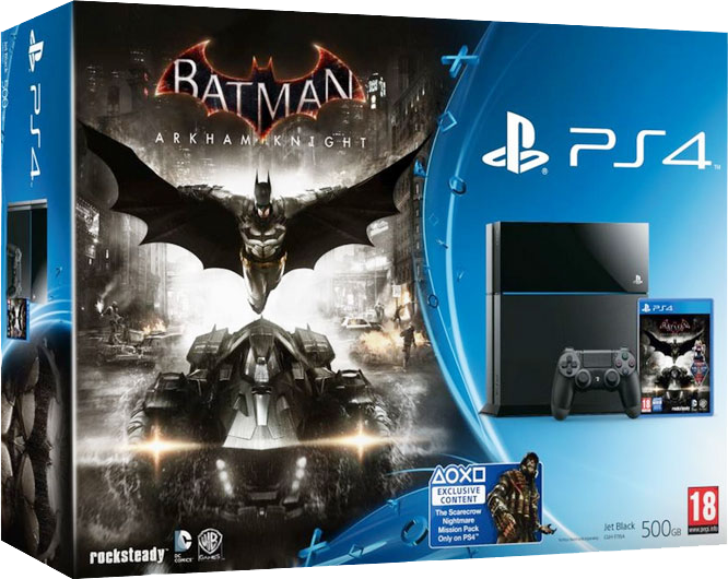 Playstation 4 Batman Arkham Knight bundle