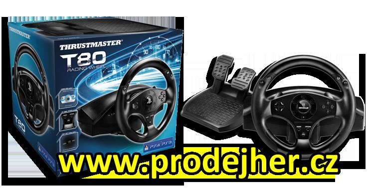 T80 volant na Playstation 4 pořídíte v e-shopu Prodejher.cz