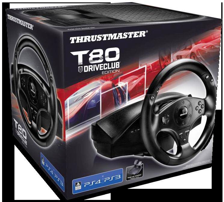 Thrustmaster T80 volant na PS4
