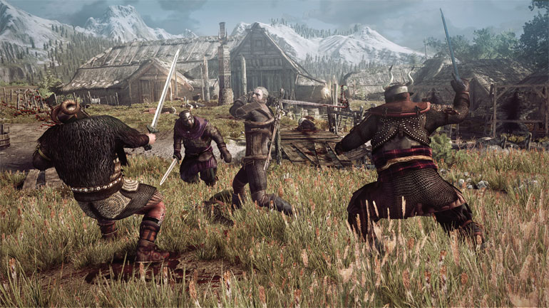 Zaklínač 3: Divoký Hon - akční RPG hra na Playstation 4